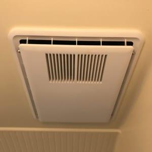 浴室に設置してある換気扇一体型浴室乾燥機